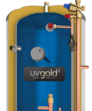 Pre-Plumbed Unvented Hot Water Storage Cylinder